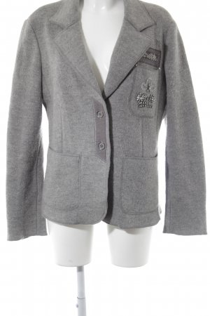 Ambiente Wool Jacket grey casual look