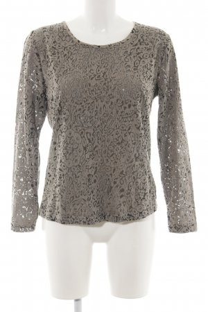 Ambria Selection Longsleeve khaki flower pattern casual look