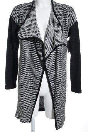 Amelie Reveur Strick Cardigan schwarz-weiß Punktemuster Casual-Look