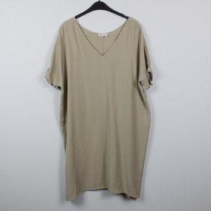 American Vintage Vestido estilo camisa color oro lyocell