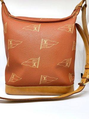 America Cup Orangebraune Schulter Tasche von Louis Vuitton