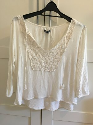 American Eagle Outfitters Ruffled Blouse multicolored