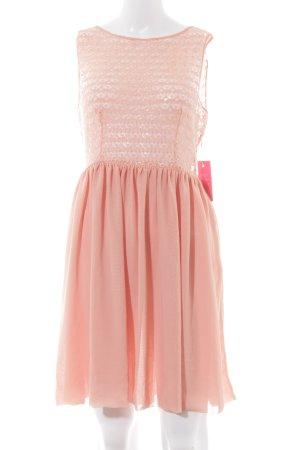 American Apparel Vestido línea A albaricoque elegante