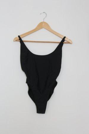 American Apparel - Badeanzug in schwarz