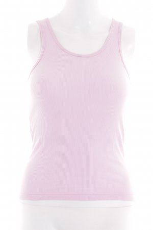 American Apparel Basic Top pink casual look