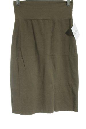 American Apparel Bleistiftrock khaki-olivgrün Elegant
