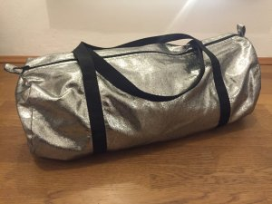 American Apparel Bowling-Bag in Silber-Metallic