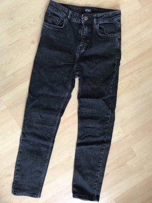 American Apparel Jeans boyfriend grigio scuro-grigio