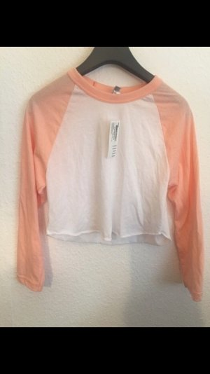 American Apparel Crop Top Apricot