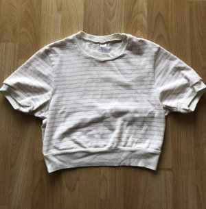 American Apparel Cropped shirt rosé-nude
