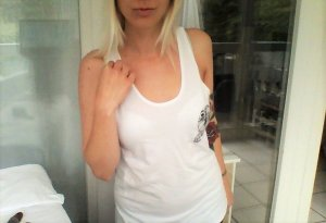 American apparel Deezt nuts top weiß