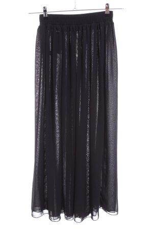 American Apparel Jupe à plis noir élégant