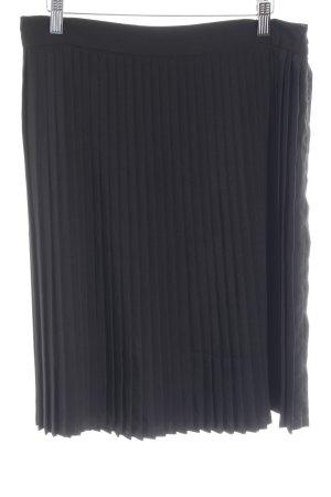American Apparel Faltenrock schwarz klassischer Stil