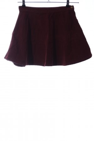 American Apparel Flared Skirt red casual look