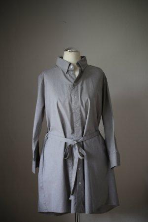 American Apparel Hemdkleid / Blusenkleid in grau / Größe: M/L