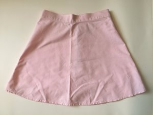 American Apparel High Waist A-Linien Rock rosa 90s