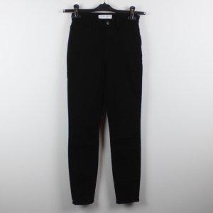AMERICAN APPAREL High Waist Jeans Gr. 25 schwarz (18/10/043)