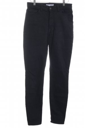 American Apparel High Waist Jeans schwarz Casual-Look