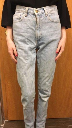 American apparel high waist mom jeans