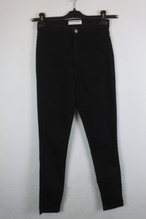 American Apparel High Waist Slim Fit Gr. M schwarz (18/6/122)