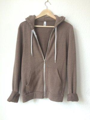 American apparel hoodie Trend braun gr S Blogger new Herbst