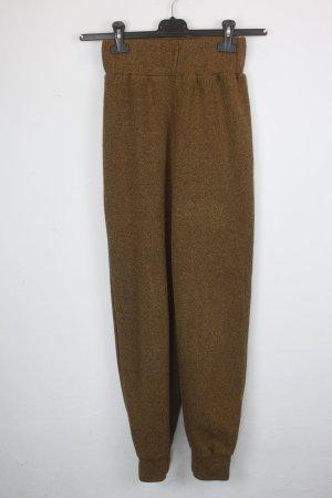 American Apparel Pantalón para montar color bronce tejido mezclado