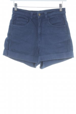 American Apparel Hot Pants blau Beach-Look