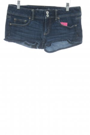 American Apparel Hot Pants blau Casual-Look