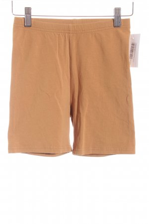 American Apparel Hot Pants camel schlichter Stil