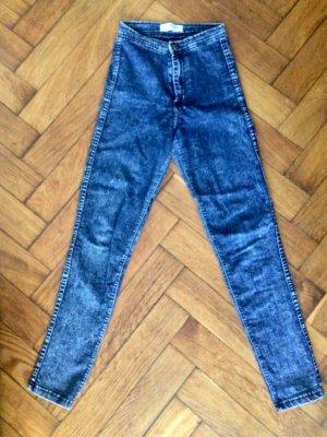 American Apparel Jeans skinny blu scuro-blu