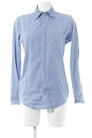 American Apparel Camisa vaquera azul celeste Apariencia vaquera