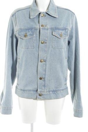 American Apparel Denim Jacket light blue '90s style