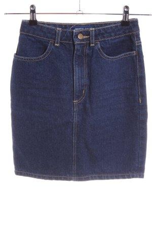 American Apparel Gonna di jeans blu stile casual