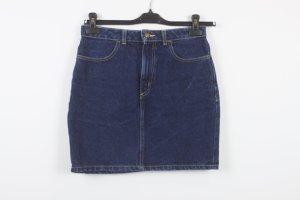 American Apparel Jeansrock Gr. L blau (18/9/354)