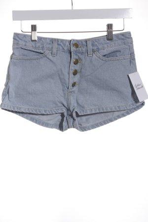 American Apparel Jeansshorts blassblau Jeans-Optik