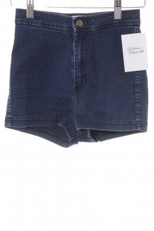 American Apparel Denim Shorts dark blue casual look