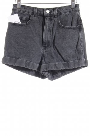 American Apparel Denim Shorts grey casual look