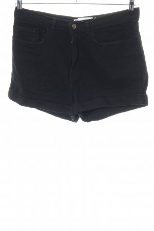 American Apparel Denim Shorts black casual look