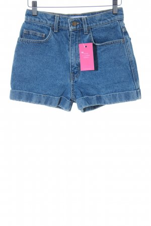 American Apparel Jeansshorts stahlblau Casual-Look