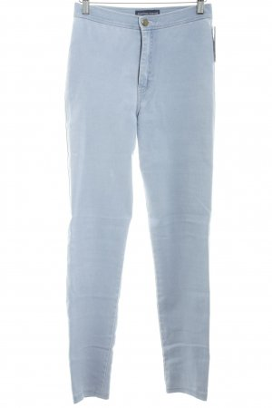 American Apparel Jeggings himmelblau Casual-Look
