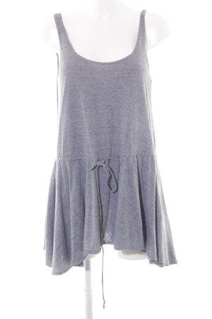 American Apparel Jerseykleid grau-hellgrau meliert Casual-Look
