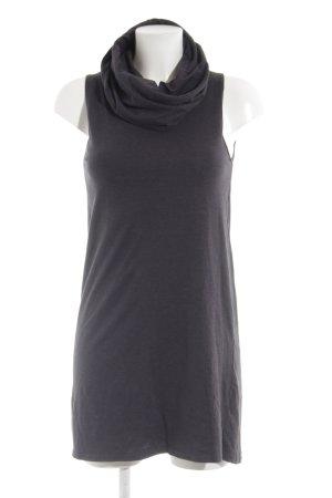 American Apparel Jersey Dress slate-gray flecked casual look