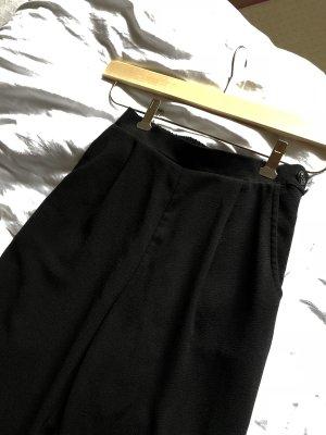 American Apparel Pantalone peg-top nero