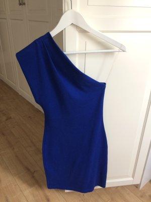 American Apparel Kleid blau asymmetrisch Größe XS/S