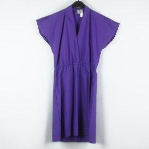 American Apparel Vestido de tela de sudadera lila tejido mezclado