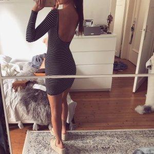 American Apparel Kleid Streifen Top Stretch