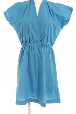 American Apparel Kurzarmkleid hellblau Casual-Look