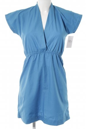 American Apparel Kurzarmkleid neonblau Casual-Look