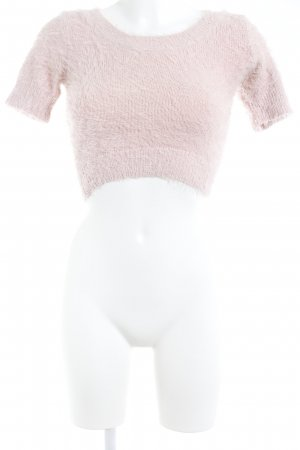 American Apparel Short Sleeve Sweater dusky pink casual look