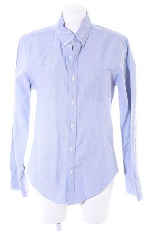"American Apparel Long Sleeve Shirt ""Slimfit Oxford"" light blue"